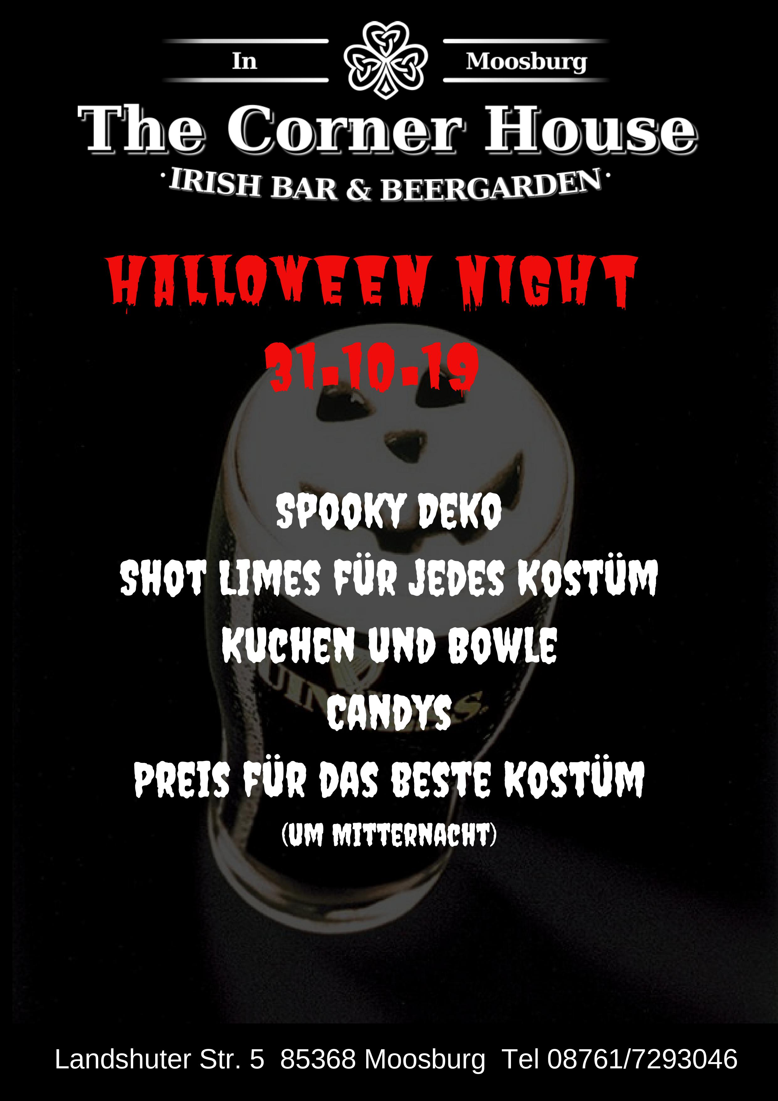 Halloween Night @ The Corner House